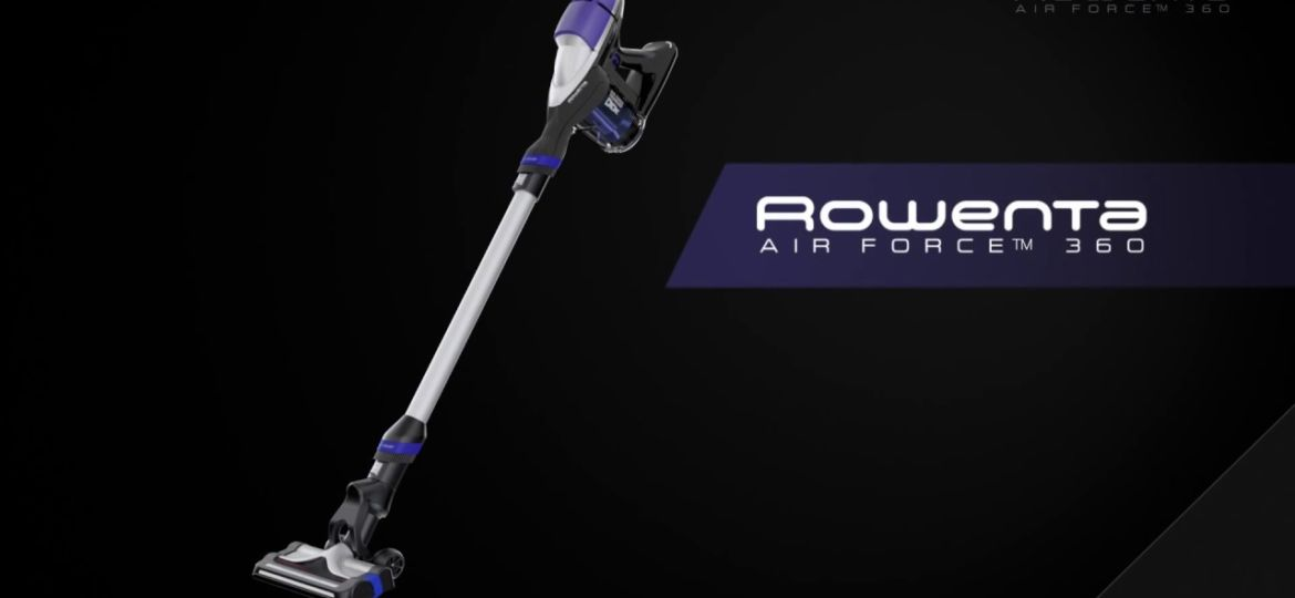 comment vider rowenta air force 360